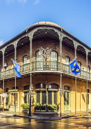 historic building in the French Quarter Standard-Bild