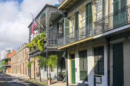historic buildings in the French Quarter photo