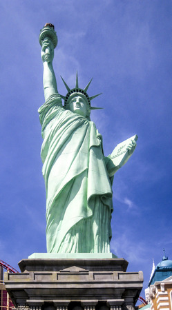 lady liberty: Estatua de la Se�ora Libertad en Las Vegas, Nevada