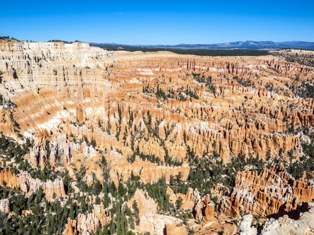 Great spires carved away by erosion in Bryce Canyon National Park, Utah, USA photo