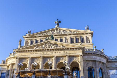 Alte Oper Old Opera House in Frankfurt am Main Germany
