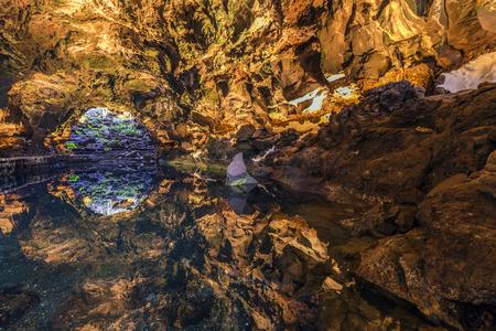 manrique: cave Jameos del Agua, Lanzarote, Canary Islands, Spain
