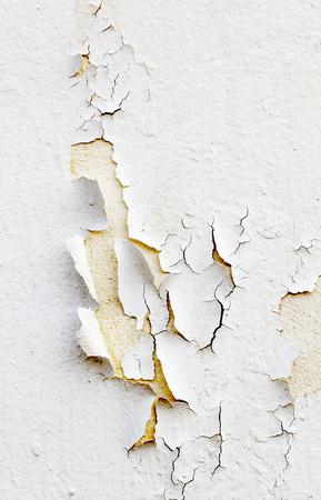 crackles: pattern of old paint at the wall Stock Photo