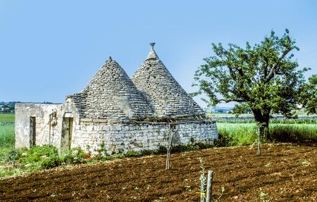 trulli: old trullis in Alberobello, Italy