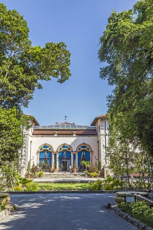 neo classical: Vizcaya, Floridas grandest residence, once belongs to millionaire industrialist James Deering, is in downtown Miami, Florida, USA. Editorial