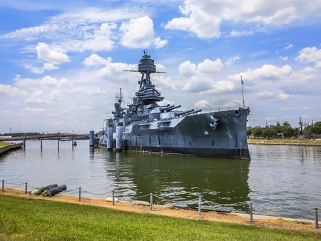 a battleship: The Famous Dreadnought Battleship Texas Editorial