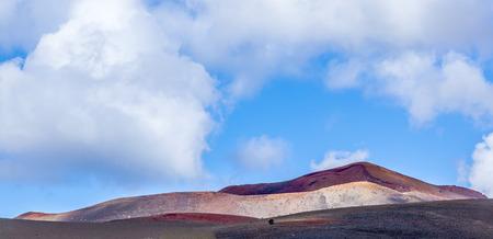 timanfaya: Monta�as de fuego, el Parque Nacional de Timanfaya en la isla de Lanzarote