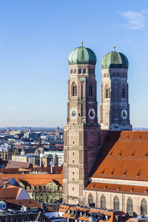 The Frauenkirche is a church in the Bavarian city of Munich that serves as the cathedral of the Archdiocese of Munich and Freising and seat of its Archbishop.