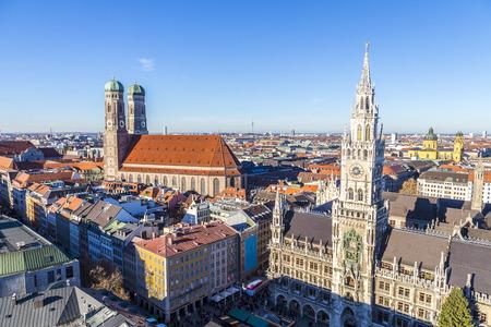 De Frauenkirche is een kerk in de Beierse stad München, dat dient als de kathedraal van het aartsbisdom München en Freising en de zetel van de aartsbisschop.