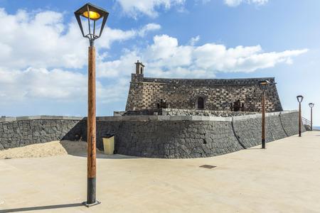 gabriel: Arrecife and Castle of San Gabriel, Lanzarote, Canary Islands, Spain