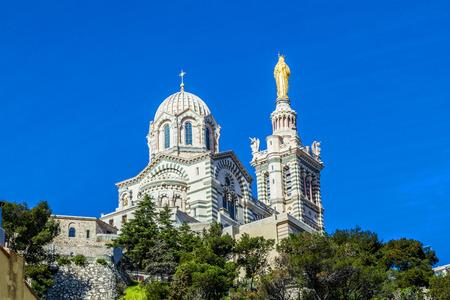 garde: Notre Dame de la Garde in Marseille, France