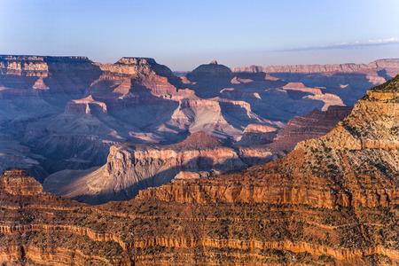 spectacular: spectacular sunset at Grand canyon in Arizona