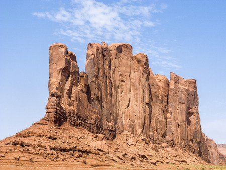 butte: Camel Butte is a giant sandstone formation in the Monument valley that resembles a camel when viewed from the south