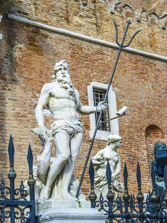 neptun: The Porta Magna at the Venetian Arsenal, Venice, Italy
