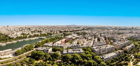 la tour eiffel: Skyline of Paris from la tour Eiffel