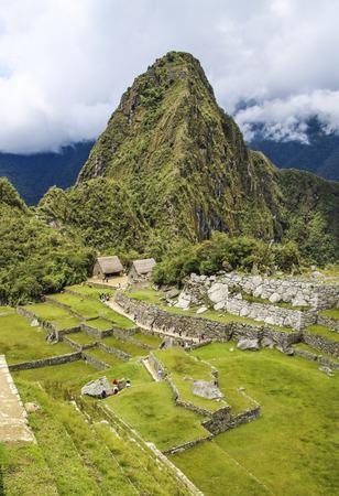 machu picchu: beautiful hidden city Machu Picchu in Peru. Machu Picchu is a 15th-century Inca site in the Cusco Region.