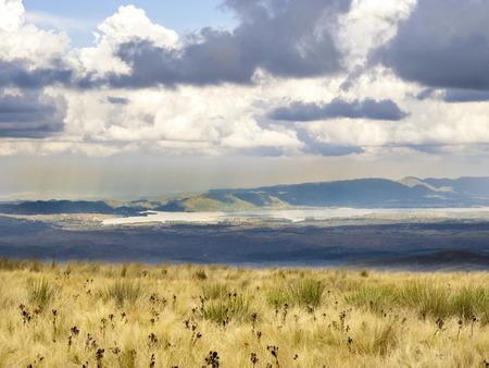 lake argentina: landscape with lake near Cordoba, Argentina Stock Photo
