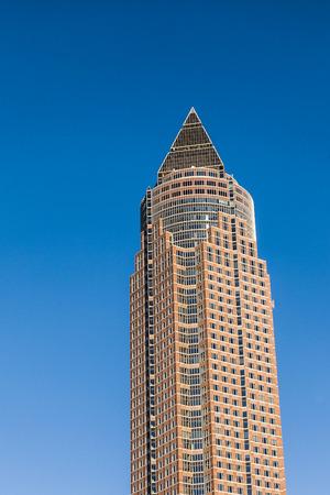 trade fair: Frankfurt Trade Fair and tower Editorial