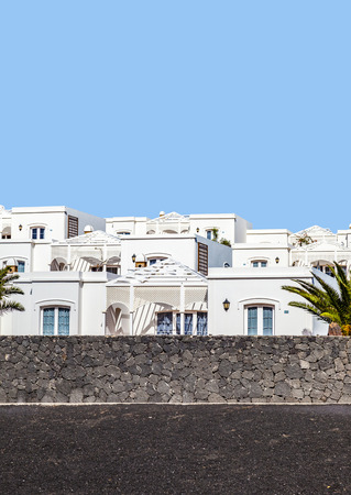 playa: appartments with palm tree in Playa Blanca, Spain