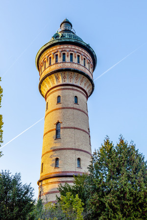 wody wieży: famous water tower in Wiesbaden Biebrich
