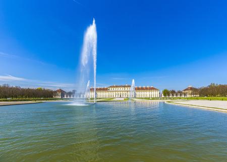 historic: historic castle Schleissheim near Munich