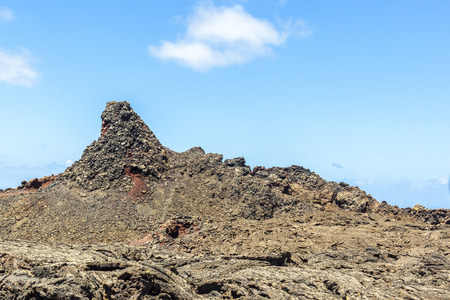 timanfaya: Timanfaya Volcanoe National Park in Lanzarote, Canary Islands, Spain Stock Photo