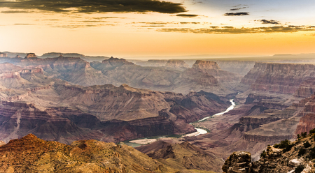 natue: sunrise at Grand Canyon from desert view point