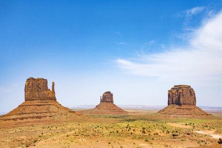 butte: scenic Butte in Monument valley