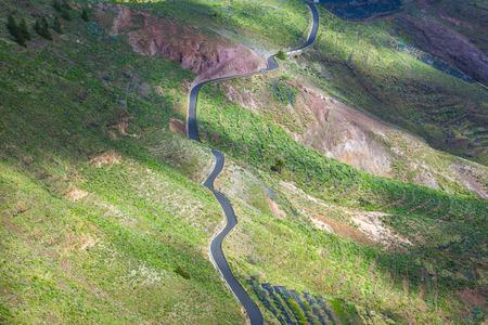 lanzarote: Landscape Lanzarote, terrace cultivation near Haria