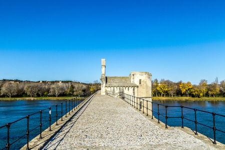 historically: Pont dAvignon, is a famous medieval bridge in the town of Avignon, south-eastern France