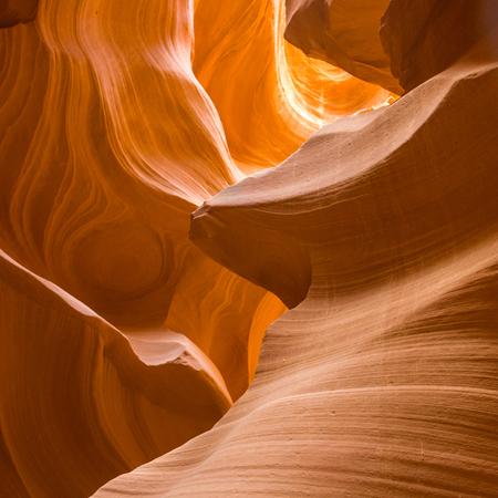 slot canyon: Antelopes Canyon near page, the world famous slot canyon in the Antelope Canyon Navajo Tribal Park