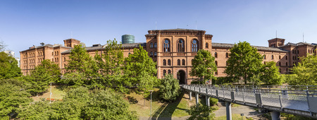 the former: former Gutleut barracks from 19th century are renovated in Frankfurt