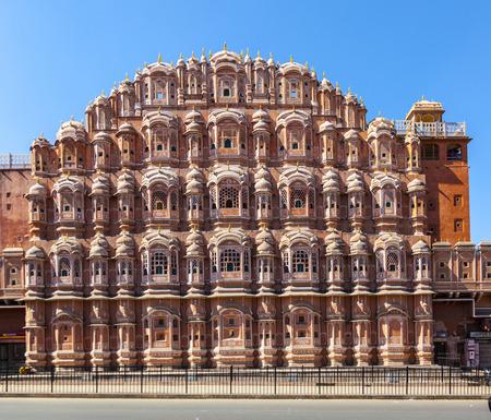 jaipur: Hawa Mahal, the Palace of Winds, Jaipur, Rajasthan, India.
