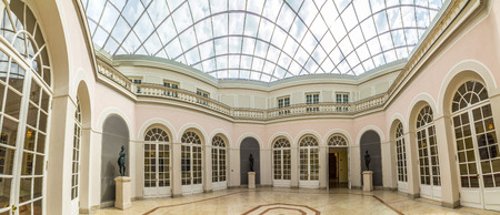 residenz: MUNICH, GERMANY - MAY 27, 2016: inside famous Munich Residence theater, the former royal palace of the Bavarian monarchs of the House of Wittelsbach. Editorial
