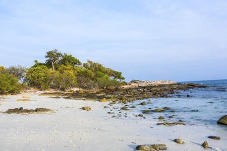 samet: empty beach at island of Koh Samet in Thailand Stock Photo