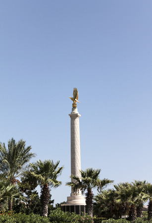 aircrew: VALLETTA, MALTA – SEP 24, 2012: The Malta Memorial dedicated to Second World War Commonwealth aircrew who lost their lives in the air battles