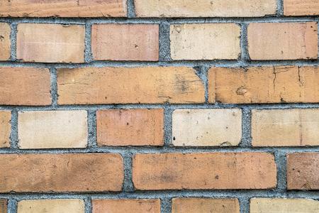 Muster der roten Wandblock im Vintage-Stil