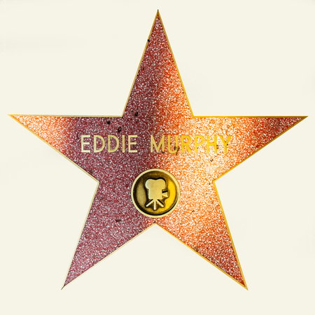 HOLLYWOOD - JUNE 26: Eddie Morphys star on Hollywood Walk of Fame on June 26, 2012 in Hollywood, California. This star is located on Hollywood Blvd. and is one of 2400 celebrity stars.
