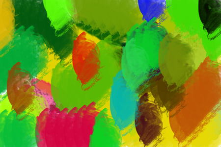 harmonic: illustration of colorful harnonic background in bright colors Stock Photo
