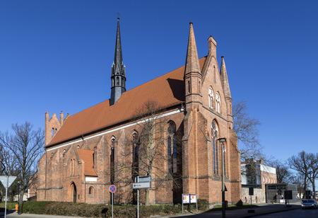 st german: Church of St. John, Neubrandenburg, Mecklenburg Western Pomerania, Germany