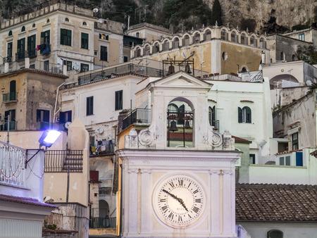 Vues de la côte amalfitaine, Positano, Ravello, Maiori, Amalfi, région Campanie, Italie