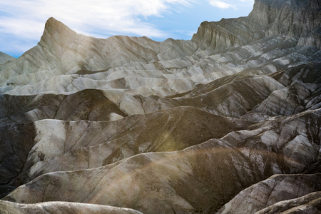 Zabriskie Point in Death Valley, located on Highway 190 near Furnance Creek Ranch