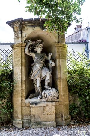 old  statues in Aix en provence made of Sandstone in joseph sec mausoleum