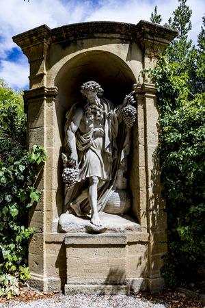old  statues in Aix en provence made of Sandstone in joseph sec mausoleum Stock fotó - 84340672
