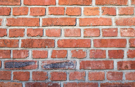 harmonic background of old red grunge brick wall