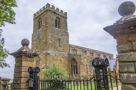 メアリー偉大な Brington、Althorpe、イングランドでは、教会の聖します。 報道画像