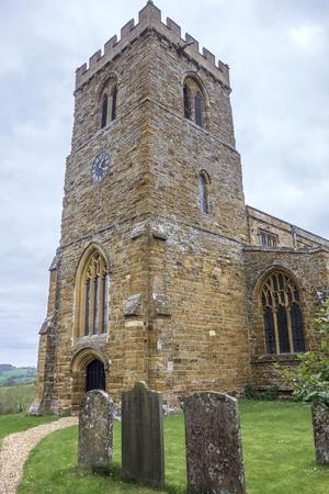メアリー偉大な Brington、Althorpe、イングランドでは、教会の聖します。 写真素材