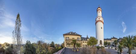 castle in Bad Homburg with tower. Heinrich von Kleist was inspired here to write Prinz of Homburg. Editorial