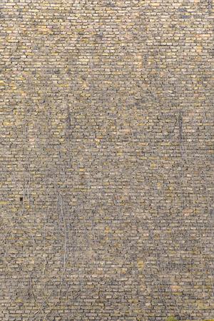 harmonic background of old brick wall pattern