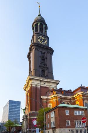 top of st. michaelis - Hamburg Michel